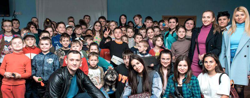 Kinder Garden: Visit The Children Of Ukraine