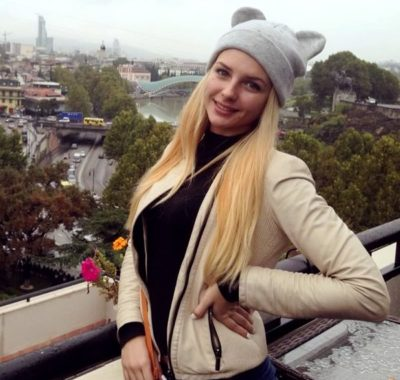 Kharkiv tour guide Anastasia
