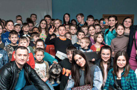 Visit the beautiful children of Ukraine at an Kiev orphanage