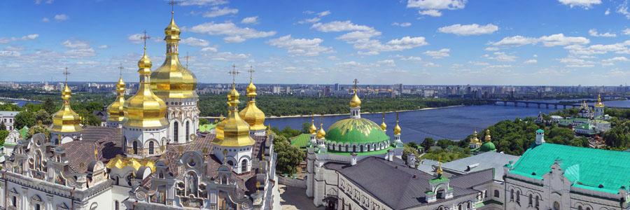 Spring Monastery in Kiev Ukraine