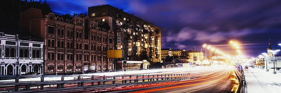 Kiev Streets at night